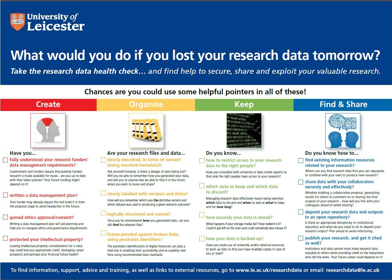 Data management research proposal